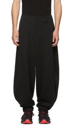 Comme des Garons Homme Plus - Black Ponte Balloon Trousers