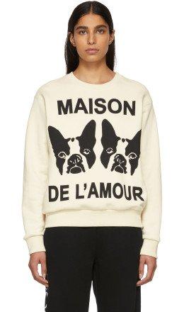 Gucci - Off-White Bosco & Orso Sweatshirt