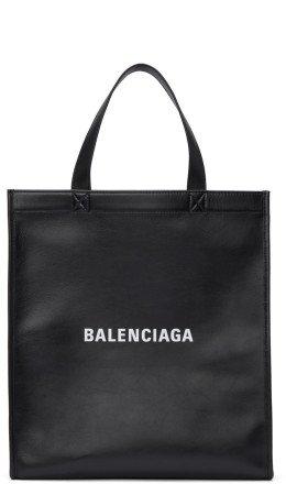 Balenciaga - Black Small Market Shopper Tote