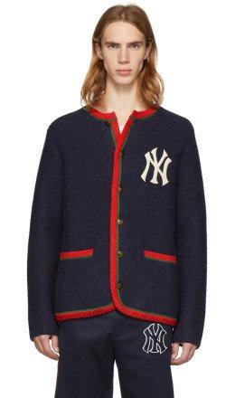 Gucci - Navy NY Yankees Edition Cardigan