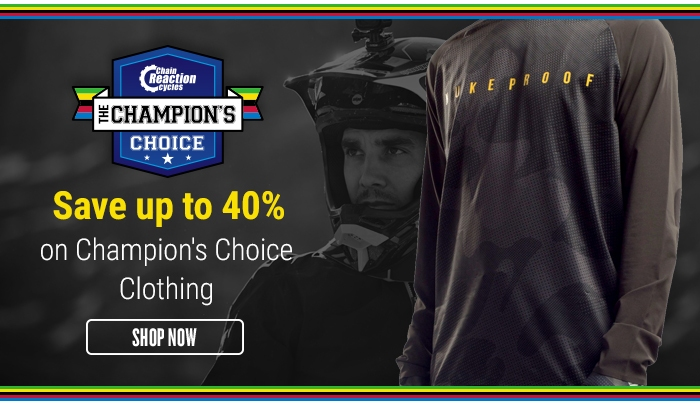 Save up to 40% on Champion's Choice Clothing