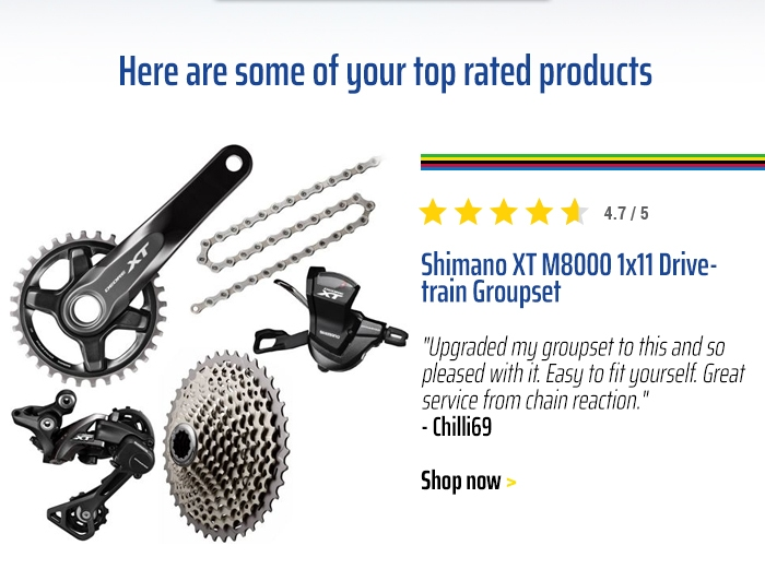 Shimano XT M8000 1x11 Drivetrain Groupset