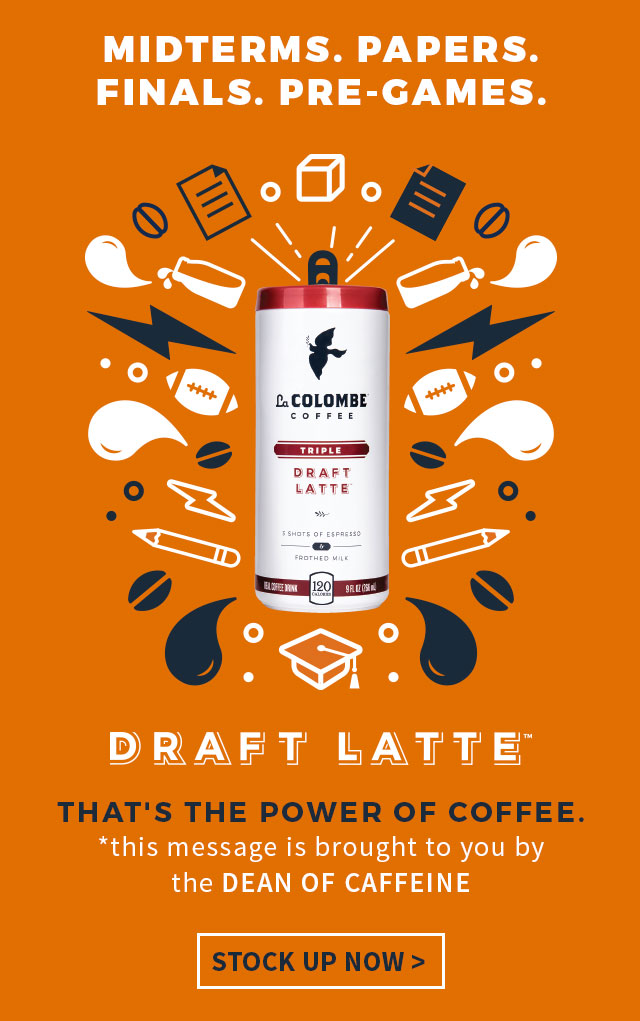 Stock up on Draft Latte and Pure Black at La Colombe Coffee Roasters