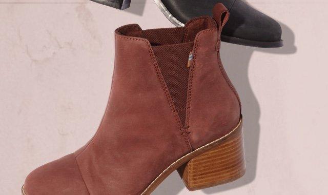 Burnt Henna Women's Esme Boots