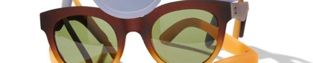 Traveler By Toms Florentin Matte Butterscotch Gradient Bottle Green Lens