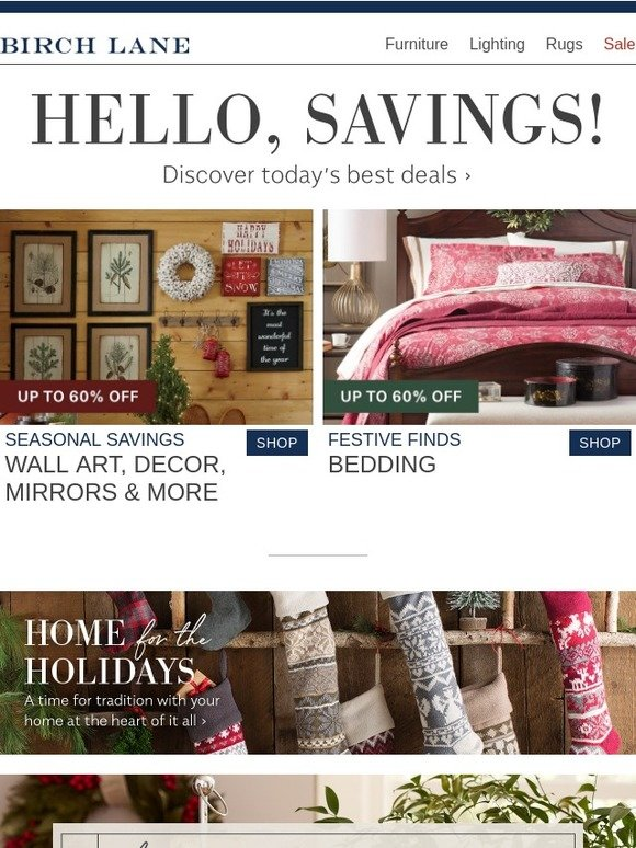 Birch Lane Email Newsletters Shop Sales Discounts And Coupon Codes Page 42