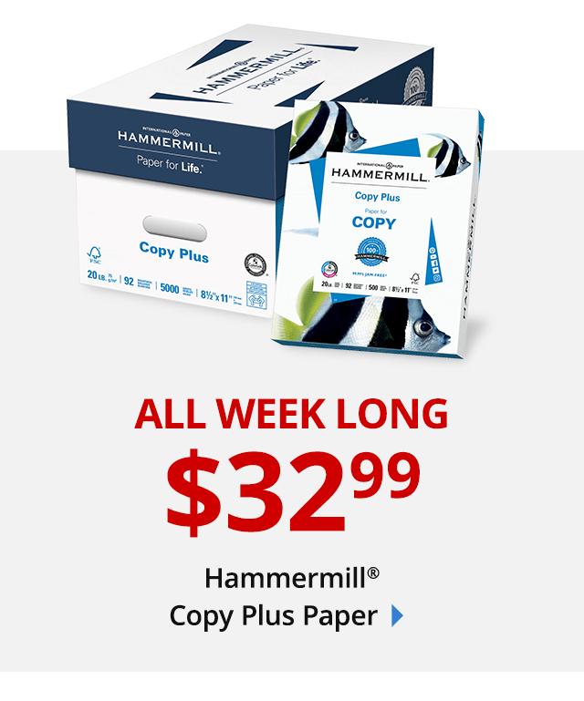 $32.99 Hammermill Copy Papewr