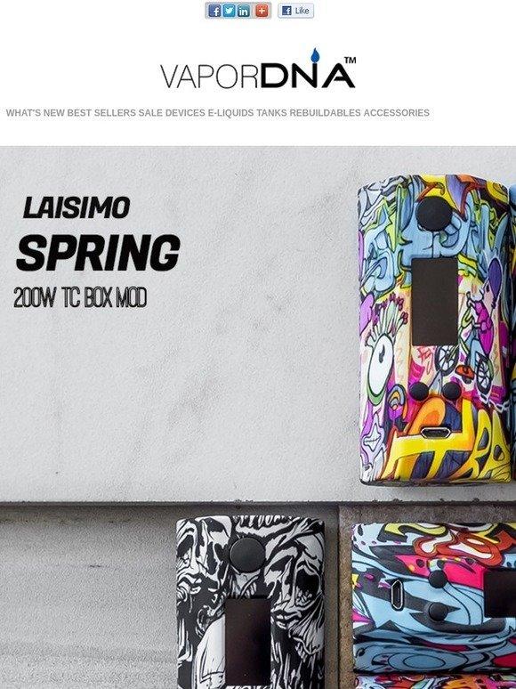 VaporDNA com: A combination of striking design and