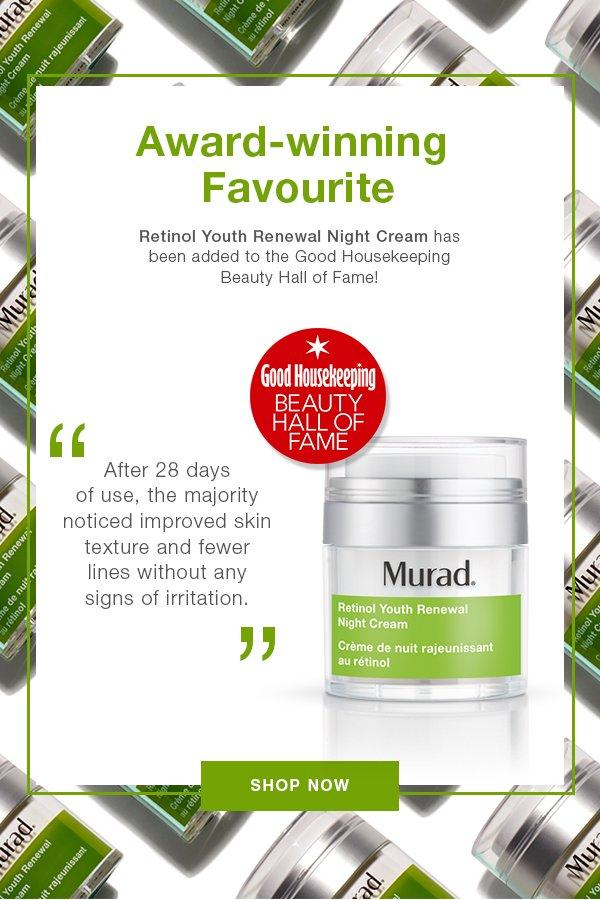 Murad UK: Retinol Youth Renewal Night Cream Wins Again! | Milled