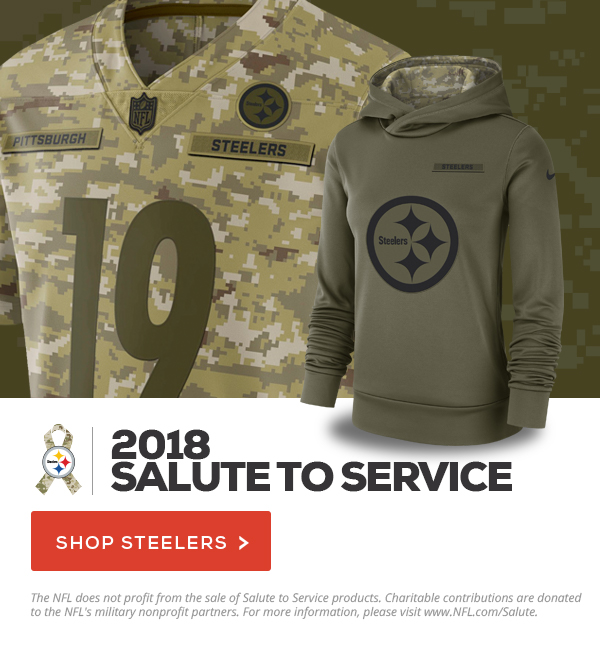 info for 00ef3 a5e22 Fanatics: The 2018 Steelers Salute To Service Collection ...