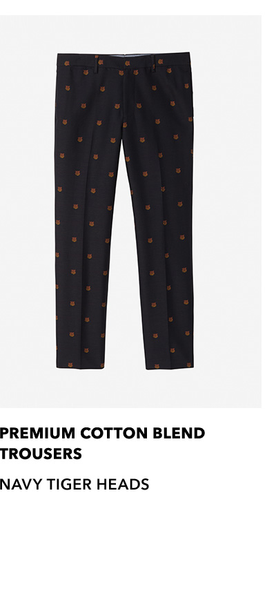 Premium Cotton Blend Trousers