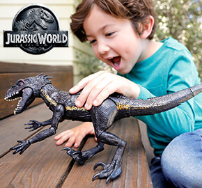 Jurassic World Grab 'N Growl Indoraptor Dinosaur