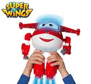 Super Wings Robot Ready Talking Jett