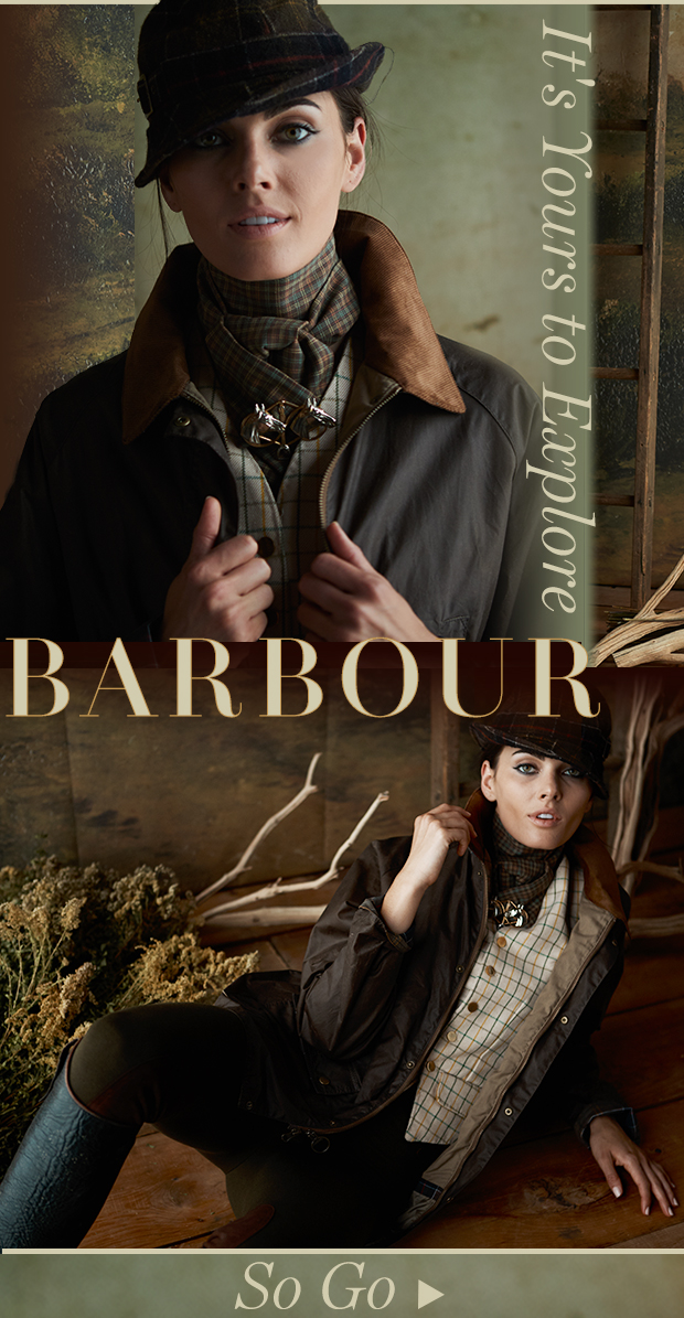 Barbour. Weather anything.
