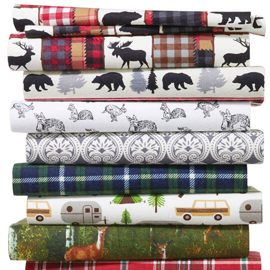 Snuggle Flannel Prints.