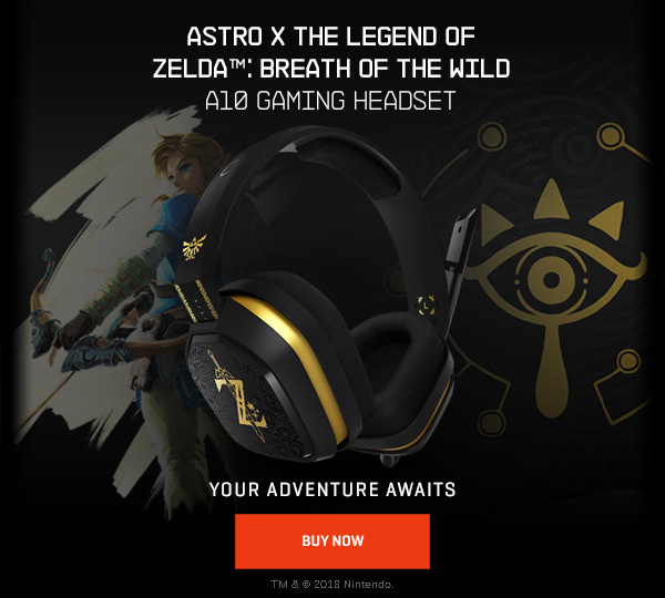 4556810ff8b0bb Astro Gaming: 🎧 Available Now! ASTRO X The Legend of Zelda™: Breath ...