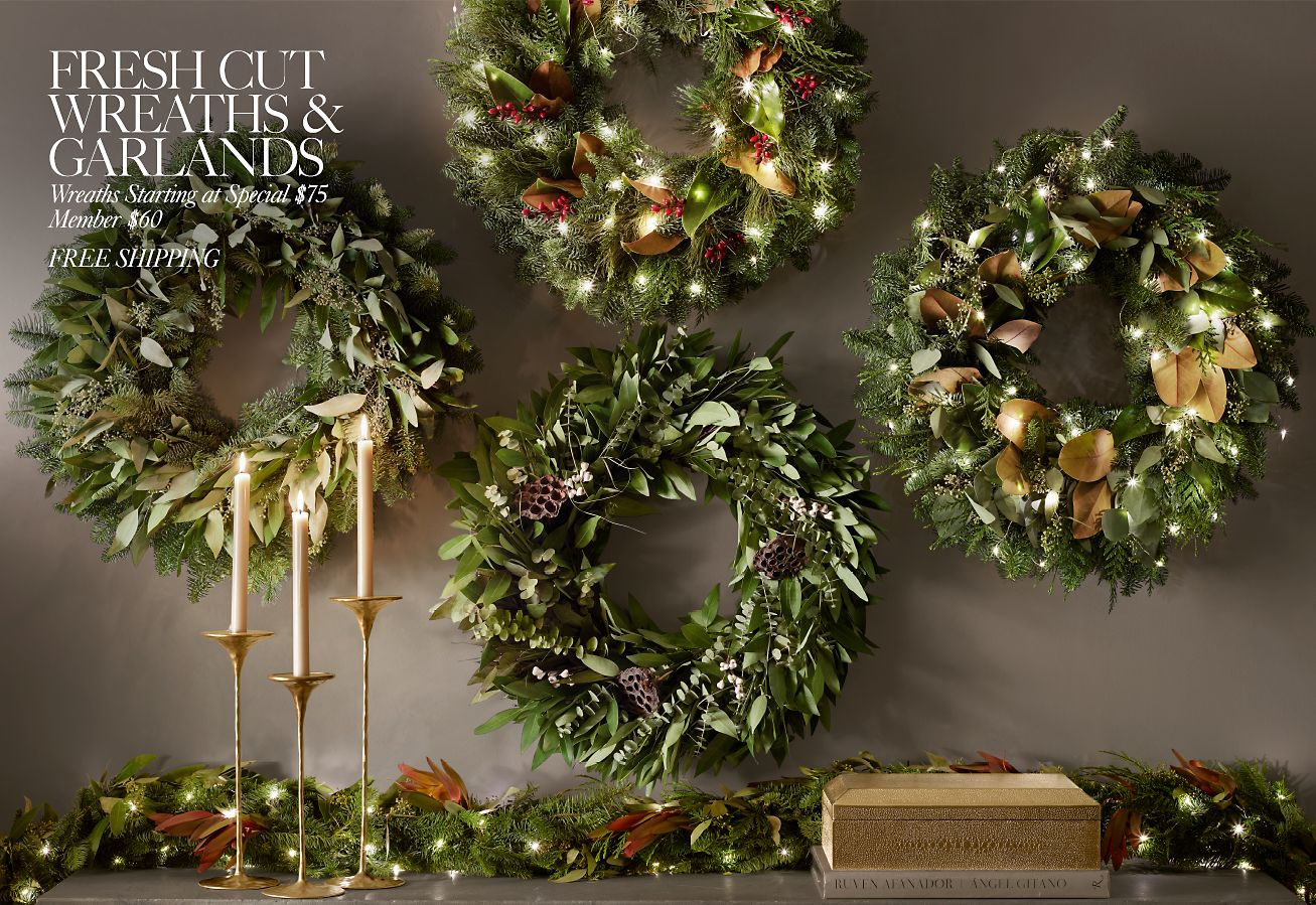 Restoration Hardware Introducing The Holiday 2018