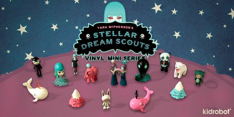 UMI Mini Vinyl Figure Kidrobot x Tara McPherson STELLAR DREAM SCOUTS