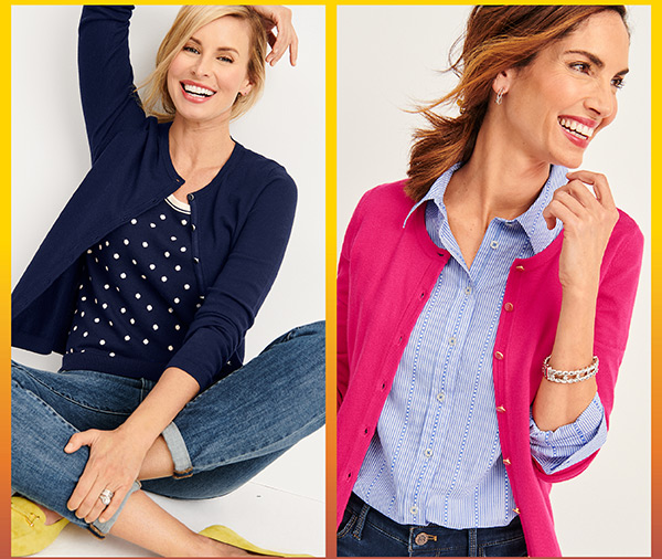 Plus, $49.50 Charming Cardigan. Originally from $79.50-solid colors only. Shop Now