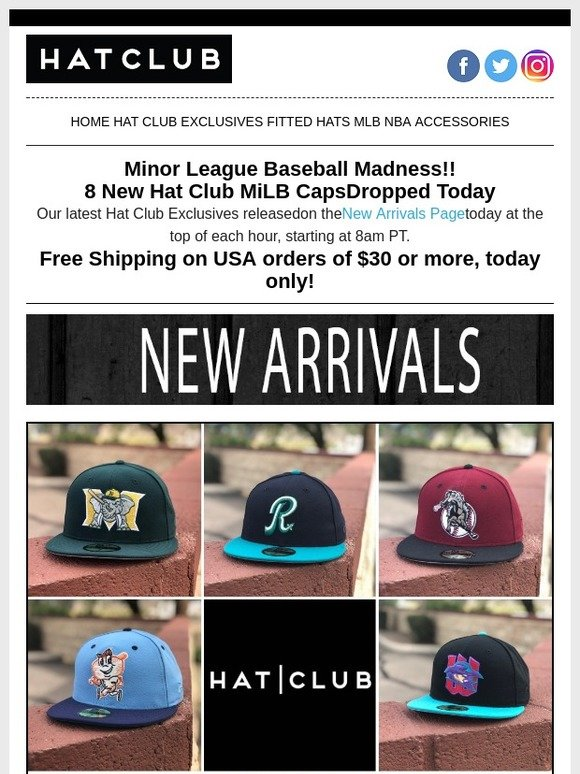 5da8403ccb0863 Hat Club: Minor League Madness Review👍 | Milled