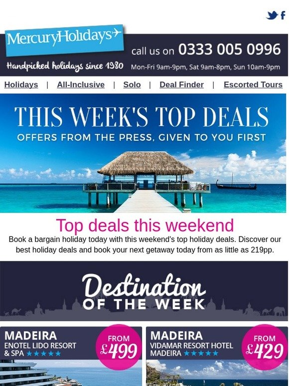 Mercury Direct It S This Week S Top Holiday Deals Milled