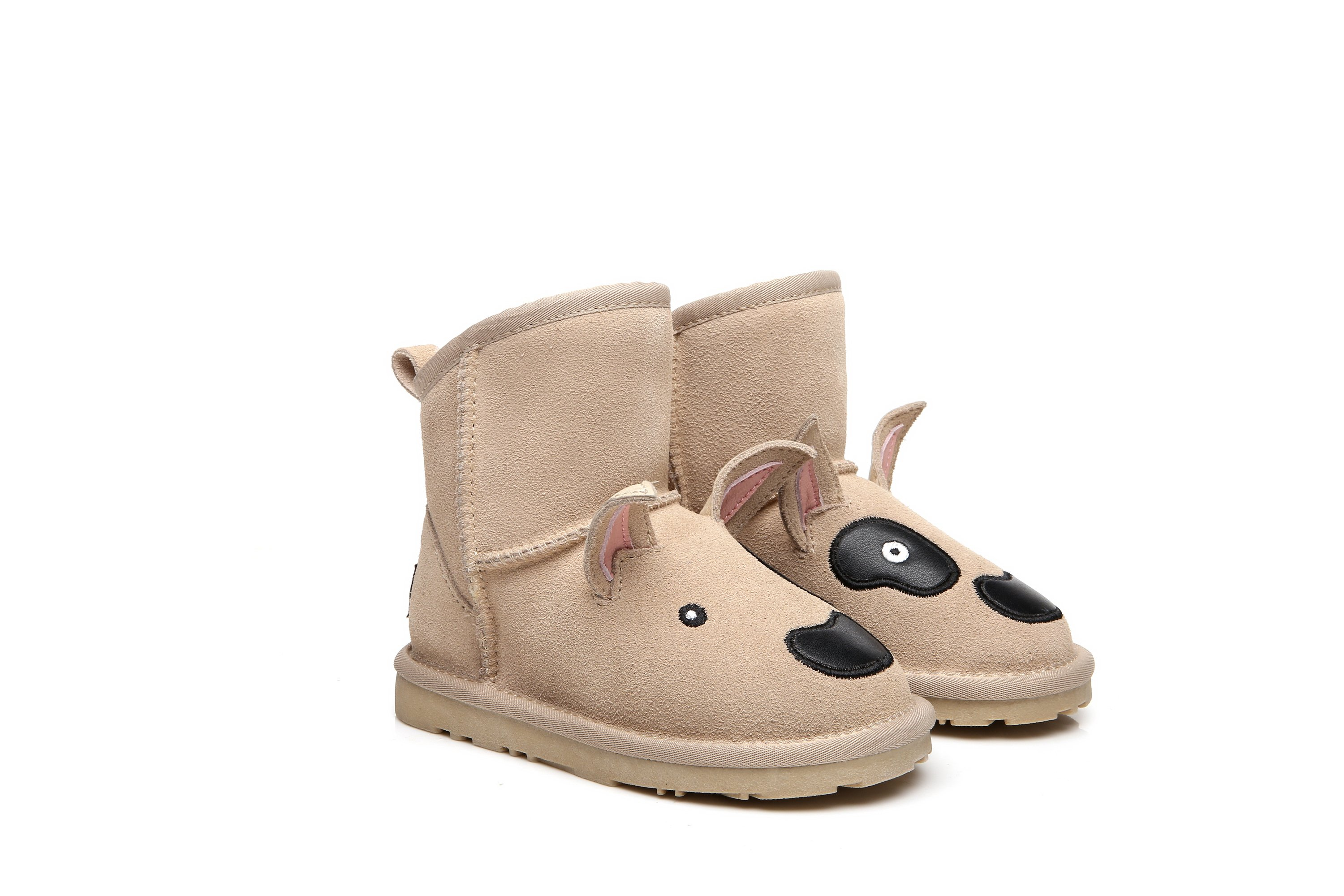 bf5c61866322 Image of UGG kids Boots Bull Terrier - Cowhide Upper Australian Sheepskin  Lining Water Resistant