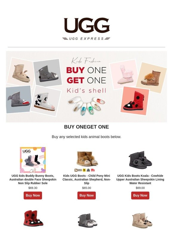 2199703056ba uggexpress.com.au  Buy One Kids Animal Boots Get One Free - UGG Expresss