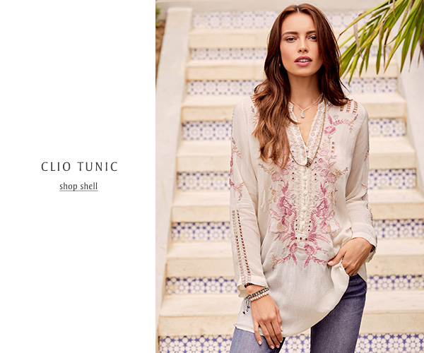 CLIO TUNIC: SHOP SHELL