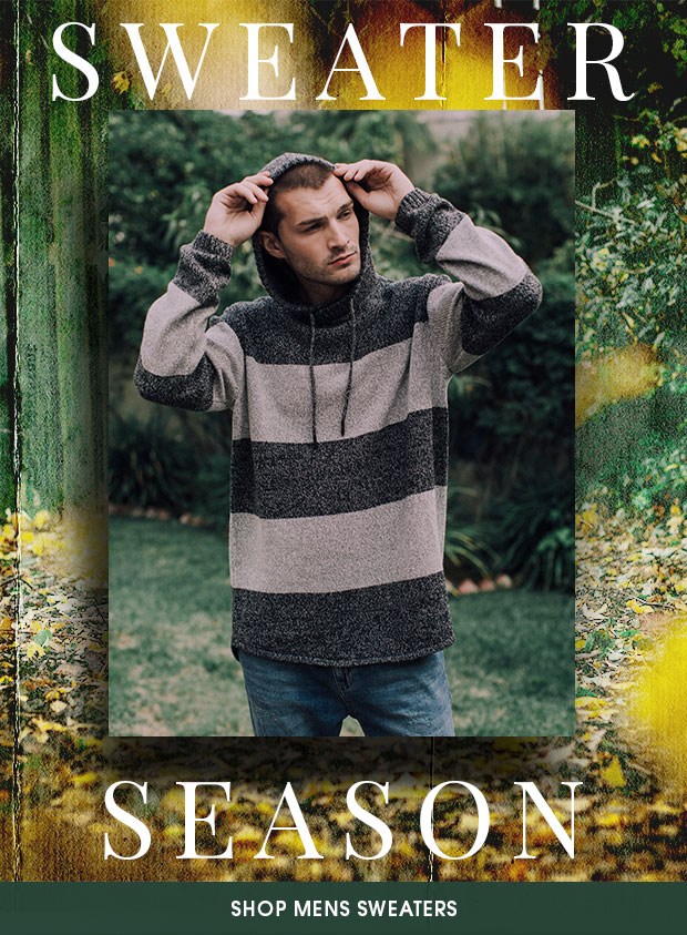 SWEATER SEASON - New Mens Arrivals
