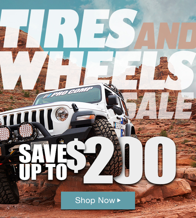 Tire and Wheel Sale