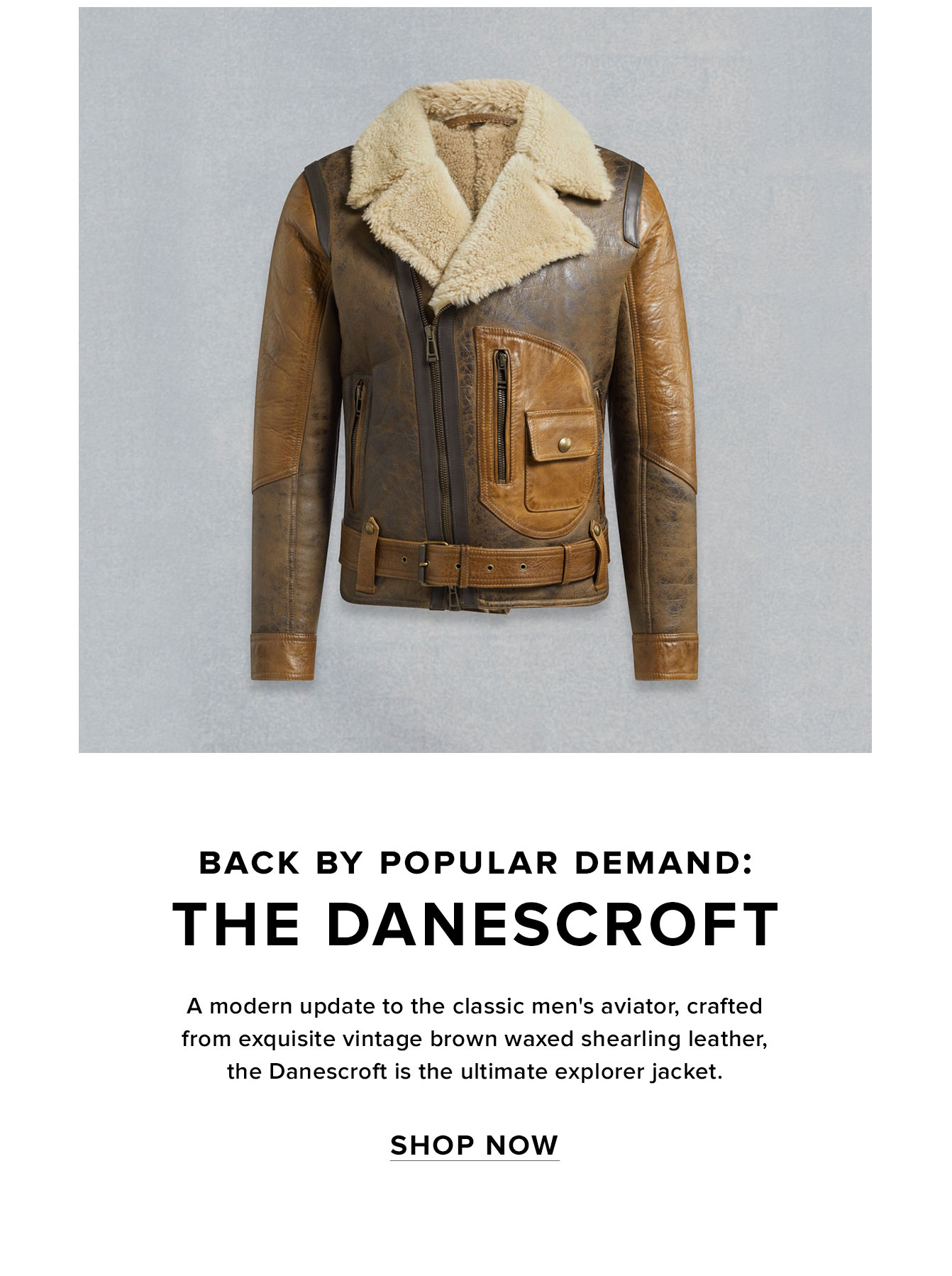 amazing selection good quality classic shoes Belstaff: The Danescroft is back | Milled