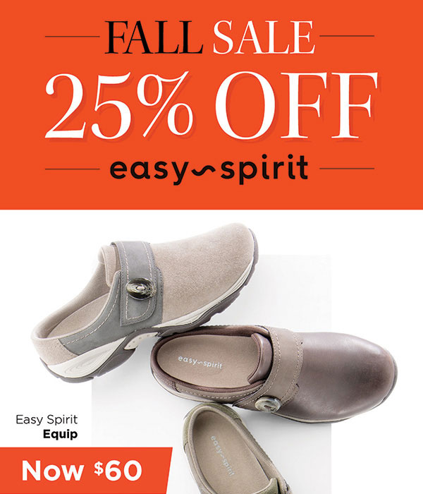 Fall Sale - 25% Off Easy Spirit Foot Smart : on SALE! off your favorite styles! | Milled