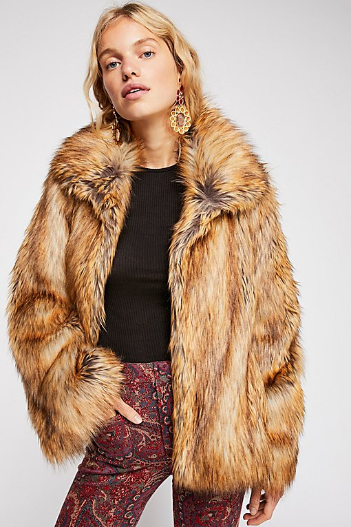 Furys Faux Fur Jacket