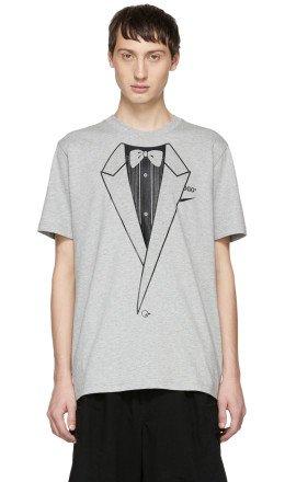 Nike - Grey Off-White Edition NRG A6 T-Shirt
