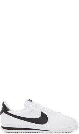Nike - White Leather Basic Cortez Sneakers