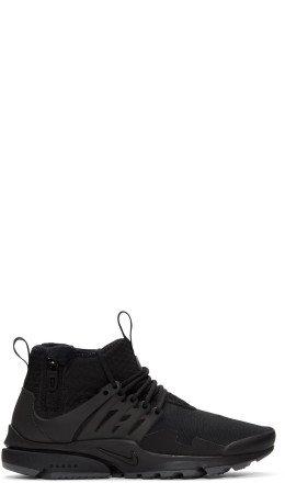 Nike - Black Air Presto Utility Sneakers