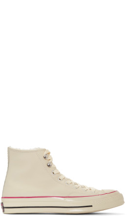 Converse - Off-White Street Warmer Chuck 70 Sneakers