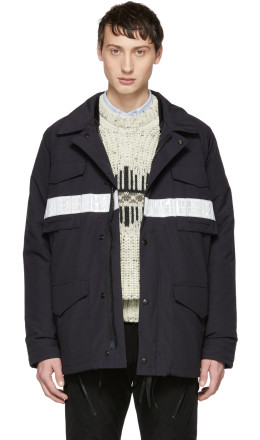 Junya Watanabe - Navy Canada Goose Edition Down Double Layer Jacket