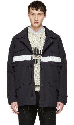 Junya Watanabe - Navy Canada Goose Edition Down Double Layer Jacket