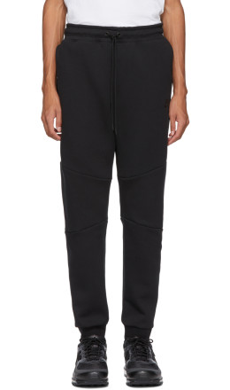 Nike - Black Tech Fleece Lounge Pants