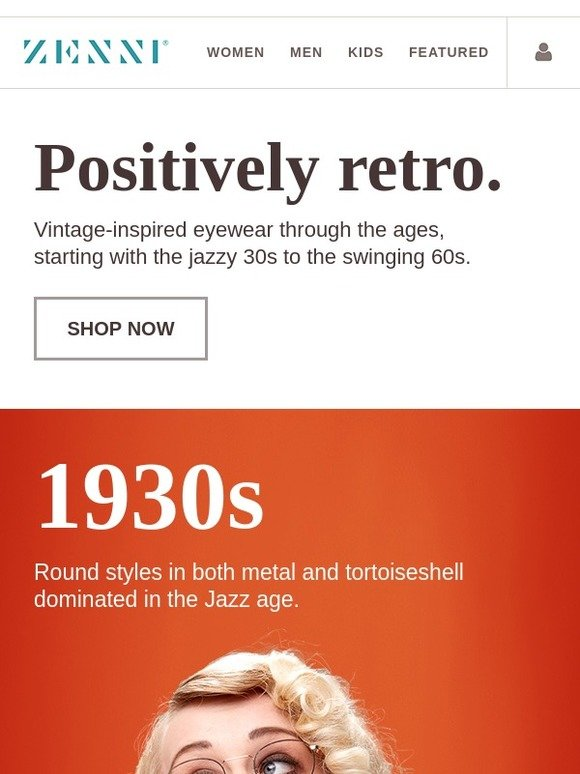eaad93914c Zenni Optical  Get Inspired by These Throwback Styles