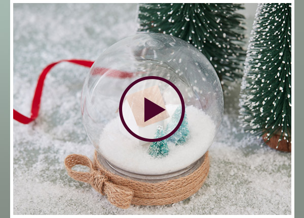 Christmas In Evergreen Snow Globe.Hobbycraft Make Your Own Christmas Snow Globe Milled