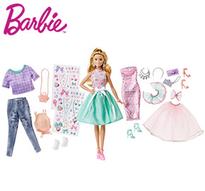 Barbie Doll and Fashions Pack