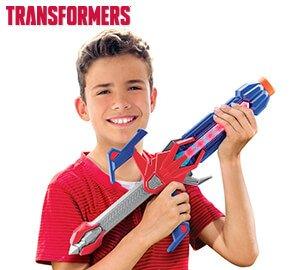 Optimus Prime Deluxe Blaster Sword