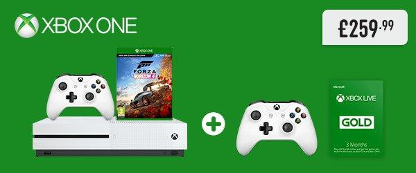 Xbox One S 1TB Forza Horizon 4 Family Bundle