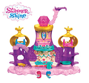 Shimmer and Shine Teenie Genies Floating Palace Playset