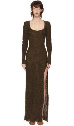 Jacquemus - Brown 'La Robe Dao' Dress