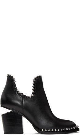 Alexander Wang - Black Cut-Out Gabi Boots