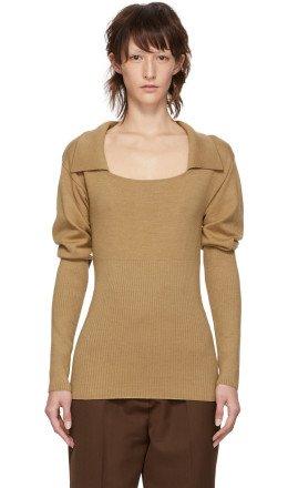 Jacquemus - Beige 'La Maille Praio' Sweater