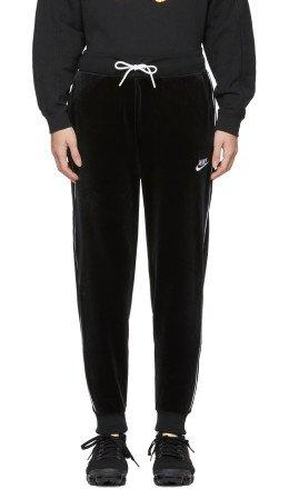 Nike - Black Velour NSW Lounge Pants